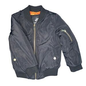 3/$25 Beverly Hills Polo Club Bomber Jacket Black